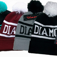 Diamond Supply Co Beanie ball of ball of wool knitted cap