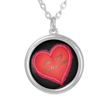 Be my Valentine Silver Plated Necklace
