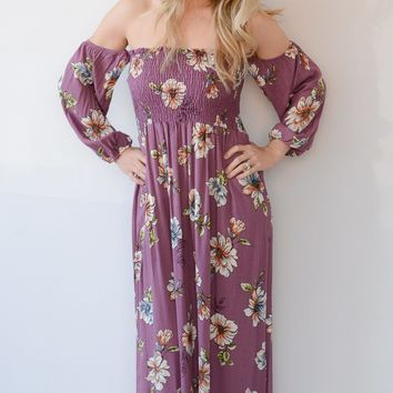 Orchid Love Maxi