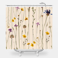 Elegant Potpourri Shower Curtain
