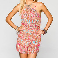 H.I.P. Womens Babydoll Romper Multi  In Sizes