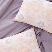 Plum & Bow Summer Kilim Pillowcase Set- Pink One