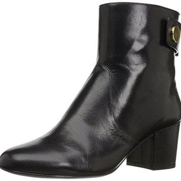 Women's Quarry Leather Ankle Boot Nine West