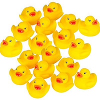 Kangaroo's - Rubber Duck Baby Bath Toy (18-Pack)