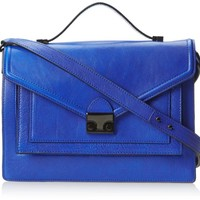 LOEFFLER RANDALL Accessories Rider-TL Top Handle Bag,Blue,One Size