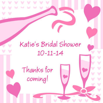 Bridal Shower Favor Tag