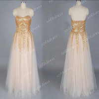 affordable prom dress, gold prom dresses, long prom dresses, peach home coming dresses, prom dresses, evening dresses, BE0434