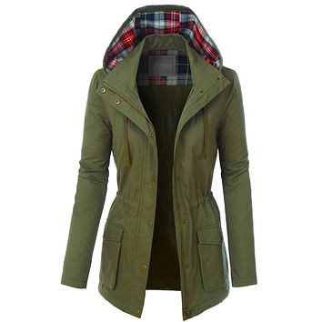 The Anna Fully Lined Jacket - Olive
