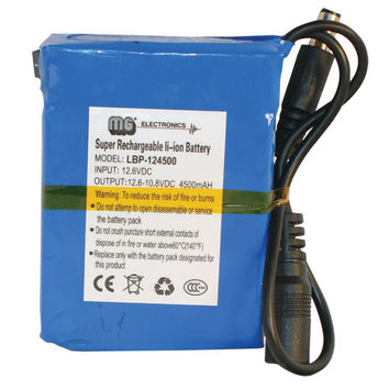 Lithium-Ion 12 Volt Covert Battery Pack
