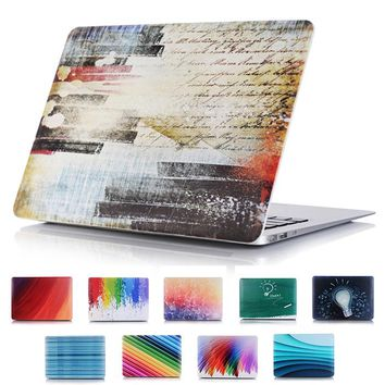 Colorful Printing Cover Hard Case for Apple MacBook Pro Retina 13 15 Personalized Hard Shell for Mac book Air 11 12 13.3 inch
