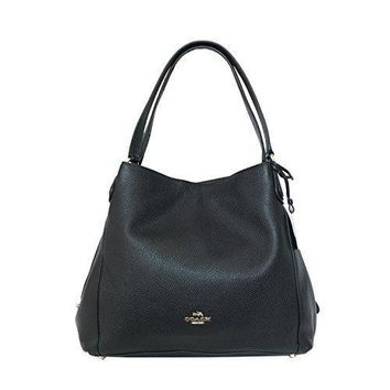 Coach Pebbled Leather Edie 31 Shoulder Bag F36464