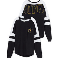 University of Colorado Varsity Pocket Crew - PINK - Victoria's Secret