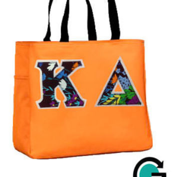 CUSTOM Must Have Tote Bag -- Perfect for Sorority and Fraternity's!
