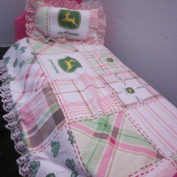 American Girl 18 Inch Doll John Deere Bed Set By Sweetpeas Bows & More