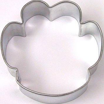 "2.25"" Dog Paw Cookie Cutter Bulldog, Panthers, Wildcat Cat"