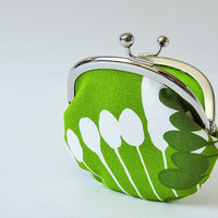 Green pods coin purse