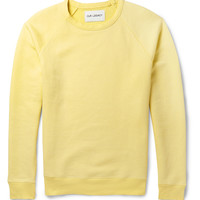Our Legacy - '50s Great Faded Cotton-Blend Sweater | MR PORTER