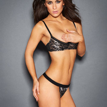 Shannyn Shelf Bra And Thong Set