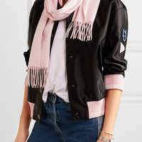 Equipment - Emilia fringed cashmere scarf
