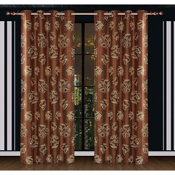 Curtains & Drapes Window Treatments Dolce Mela DMC464