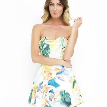 KAUAI GIRL FLORAL DRESS