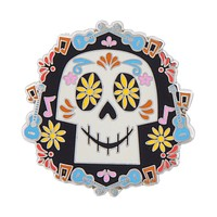 Disney Parks Coco Skull Pin New with Card