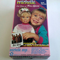 Vintage 1990s Talking Michelle Tanner full house doll, Michelle tanner, full house, you got it dude, 90s kid, Vintage deadstock, 1990s