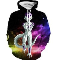 Dragon Ball Z Frieza Galaxy Winter Hoodie