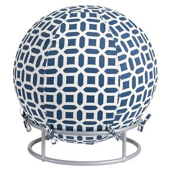 Exercise Ball Chair, Ball Chair Peyton Navy