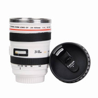 Camera Lens Thermos Cup Coffee Tea Cup Stainless Steel Mug Novelty gift For Camera Fans
