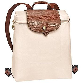 LONGCHAMP LE PLIAGES BACKPACK IVORY