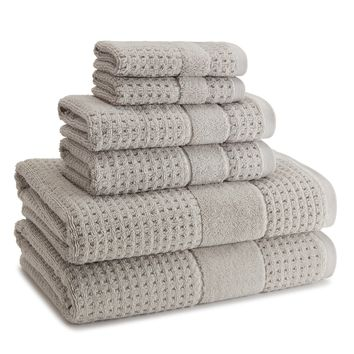Hammam Towels S/6 | Dolphin Grey