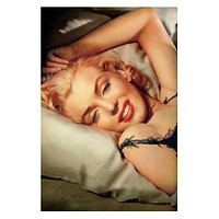 MARILYN MONROE POSTER Amazing Shot Laying Down 24x36