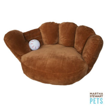 Martha Stewart Pets® Baseball Glove Dog Bed | Beds | PetSmart
