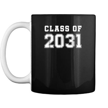 Class of 2031  First Day of School Grow With Me  Mug