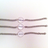 Best Friends Supernatural Nickname Bracelets