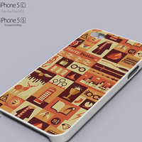 Harry Potter Collage Art Popular Phone case for iPhone 4/4s, iPhone 5/5s/5c, Samsung Galaxy s3,s4,s5