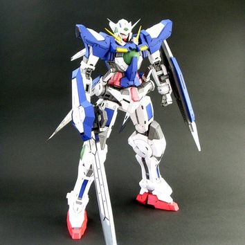 gundam EXIA(ver.Rarra),Create your own Gundam,Instant Pdf download,  3D Pattern, Paper Gundam,Paper Crafts,Paper Robot,3D