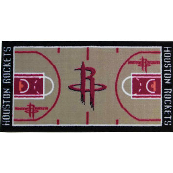 NBA Houston Rockets Rug Basketball Runner Carpet