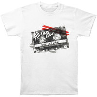 All Time Low Men's  Mix Tape T-shirt White Rockabilia