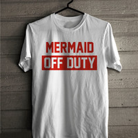 Mermaid Off Duty Women's Casual T-Shirt
