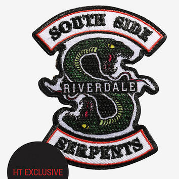 Riverdale Southside Serpents Iron-On Patch Hot Topic Exclusive