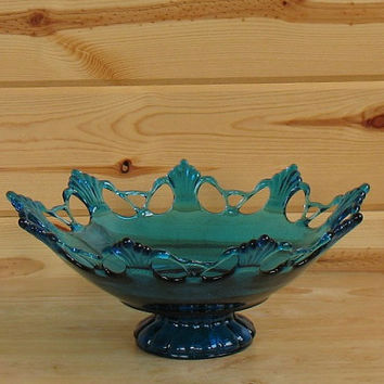 Fenton Lace Edge Bowl
