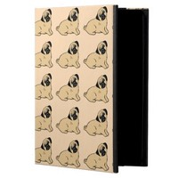 Pugs Pattern Creme iPad Case