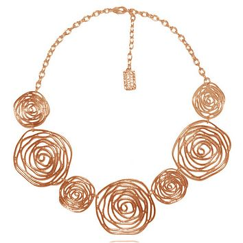 Julie Necklace in Rose Gold