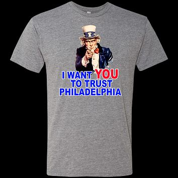I Want You to TRUST Men's Triblend T-Shirt