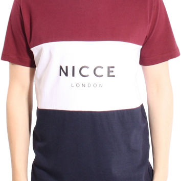 NICCE London Triple Panel Crew Neck T-Shirt