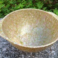 Vintage Melmac Confetti Bowl in Tan Multi-Color