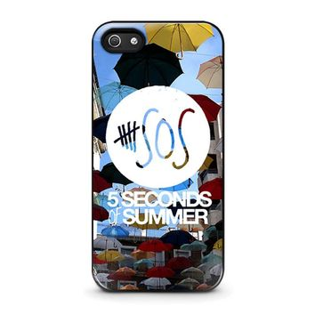 5 SECONDS OF SUMMER 4 5SOS iPhone 5 / 5S / SE Case Cover