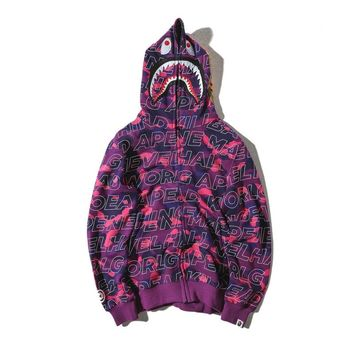 Hoodies Bape Unisex Fashion Jacket [11555860364]